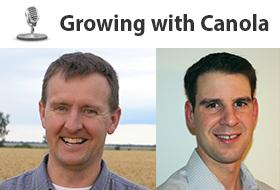 Tom Wolf and warren Ward discuss pre-seed spraying