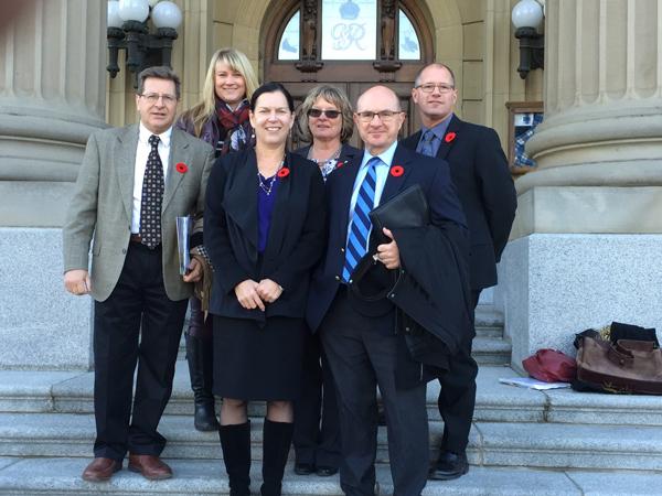 Alberta Canola and Canola Council at the Alberta Legislature