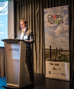 Lee Markert opens chops and crops