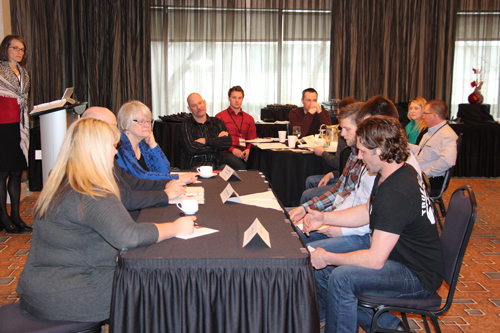 The Canola Leaders presented their policy positions to a mock government panel to understand how to deliver their message