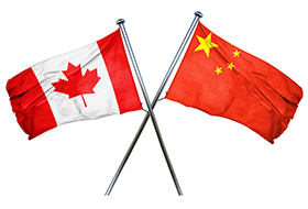 china-canada-flag