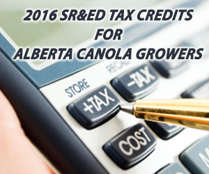 Tax Credits for Alberta Canola Growers