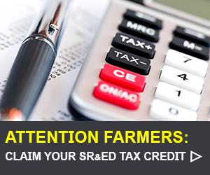 SRED Tax Credits Alberta Canola