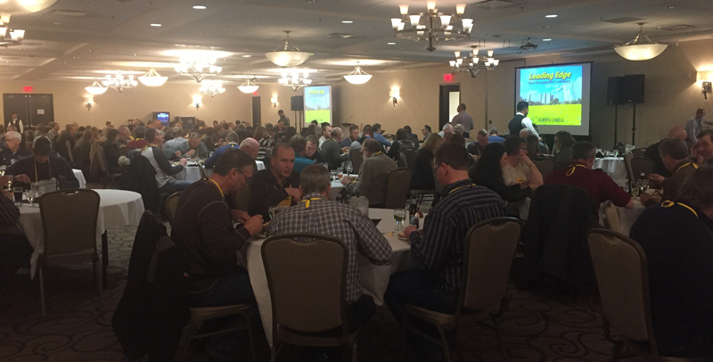 A sold out Leading edge farm Management Conference