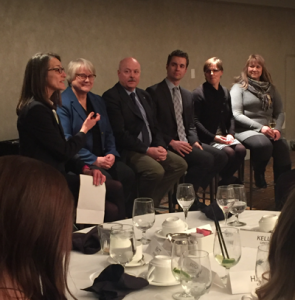Policy panel at Alberta Canola Leaders event