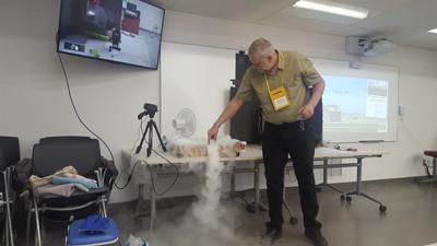 temperature inversions spraying