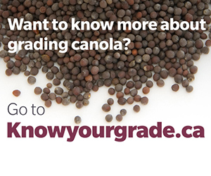 Know Your Grade for Canola